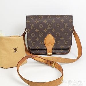 Louis Vuitton Cartouchiere MM with  dustbag #1703M